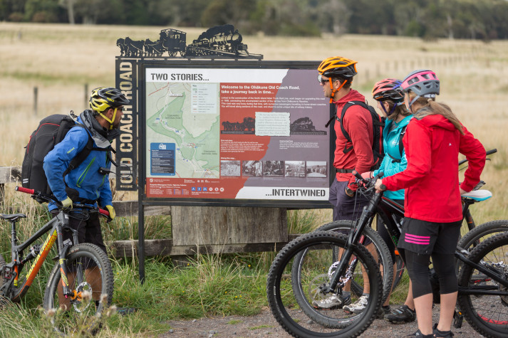 Ohakune Old Coach Road - Cycling