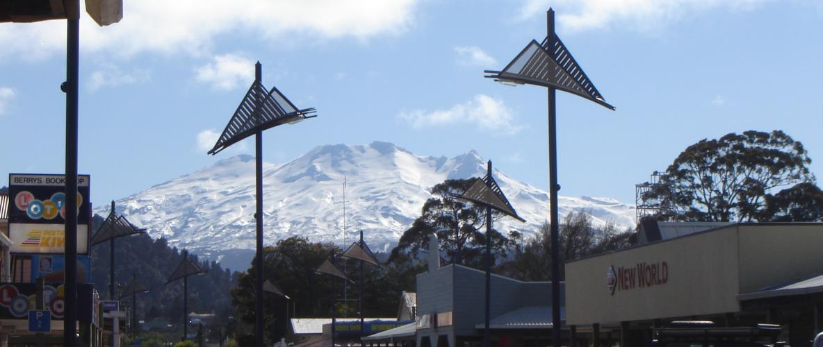 Discover Ohakune  - Majestic volcanic formations, Tongariro Alpine Crossing, hiking & bush walking, mountain biking, river activities, rock climbing, skiiing/snowboarding, fishing & hunting, art, culture, and the best of New Zealand Heritage...